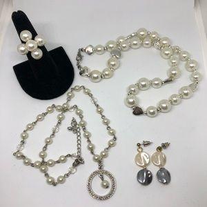 CLEARANCE - Vintage pearl theme jewelry bundle